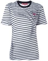 McQ by Alexander McQueen 'Swallow' striped T-shirt