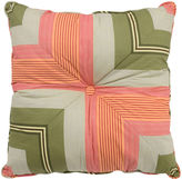 Waverly Wailea Coast Square Stripe Decorative Pillow
