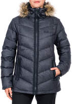 Jack Wolfskin Baffin Bay Faux Fur Down Jacket