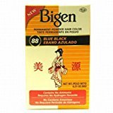 Bigen Powder Hair Color #88 Blue Black (2 Pack)