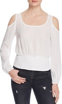 Ella Moss Gauze Cold Shoulder Top