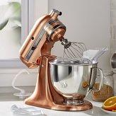 Crate & Barrel KitchenAid ® Copper Metallic Series Stand Mixer