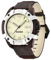 Timberland Men's Chocorua Leather Strap Watch, 46mm