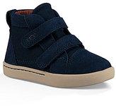 UGG Kid s Rennon Suede & Canvas Dual Hook and Loop Sneakers
