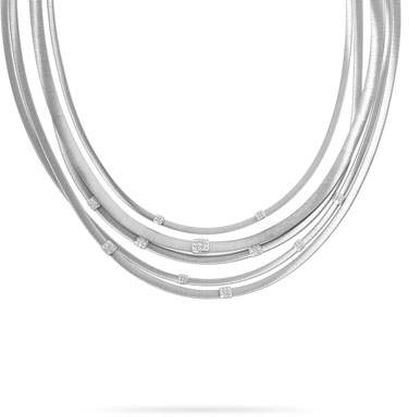 Marco Bicego Masai Five-Strand Necklace with Diamonds