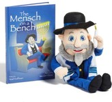 Toddler License 2 Play Mensch On A Bench Stuffed Doll & Book Set