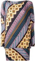 Issey Miyake printed pattern top