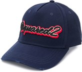 DSQUARED2 logo embroidery baseball cap