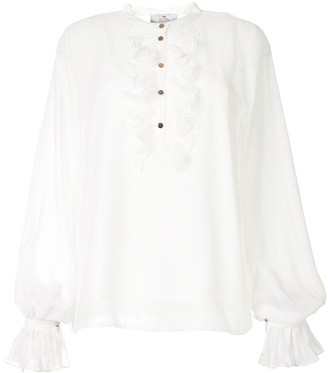 We Are Kindred Frankie pleated blouse
