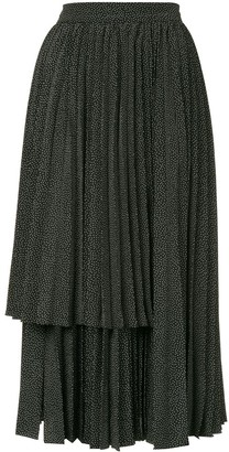 Dalood Layered Panel Skirt