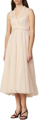 Sandro Wave One Cassy A-Line Dress