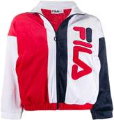 Fila cropped zipped logo sweater