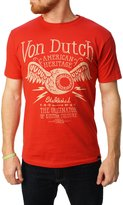 Von Dutch Men's Lightning Eyeball Graphic T-Shirt-2XL