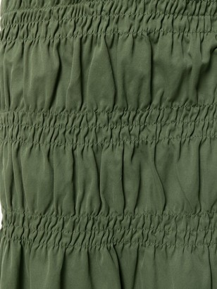 Romeo Gigli Pre-Owned Gathered Short Skirt