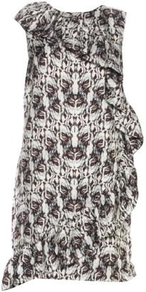 Thomas Wylde White Silk Dresses