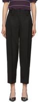 Acne Studios Black Str02 Suiting Trousers