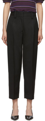 Acne Studios Black Str02 Suiting Trousers