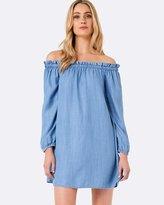 Forever New Penny Paperbag Dress