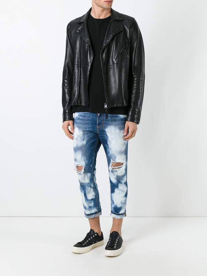 DSQUARED2 Glamhead highly bleached jeans