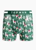 TopmanTopman Christmas FA LA LA LA Llama Trunks*