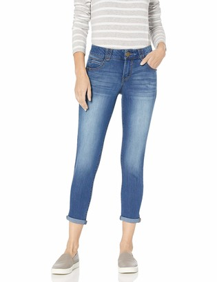 "Democracy Womens Ab""Solution Booty Lift Crop Jeans"