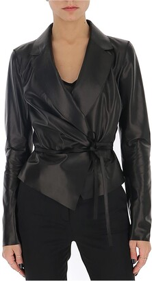 DSQUARED2 Waist-Tie Wrapped Jacket