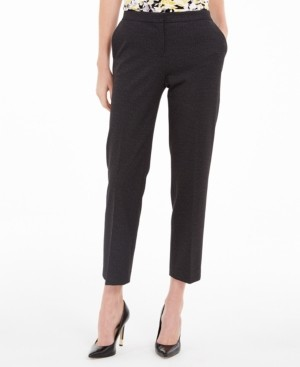 Kasper Petite Elastic-Back Dress Pants