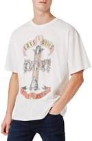 Topman Men's Guns N' Roses Graphic T-Shirt