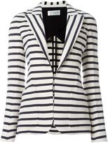 Faith Connexion striped blazer - women - Cotton - 38