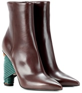 Balenciaga Bistrot leather ankle boots