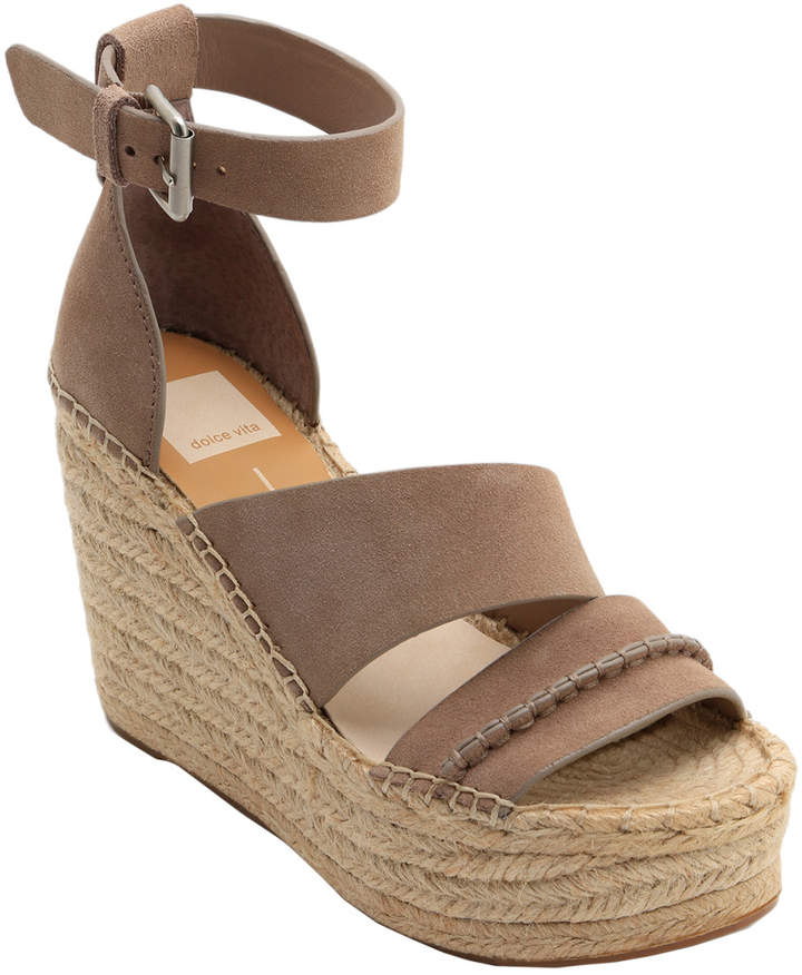 a009c6399eb9d Simi Suede Wedge Sandal