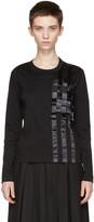 Noir Kei Ninomiya Black Tape T-shirt