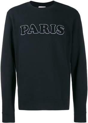 Sandro Paris terry-flocked sweatshirt