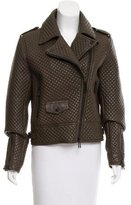 Belstaff Quilted Leather Jacket w/ Tags