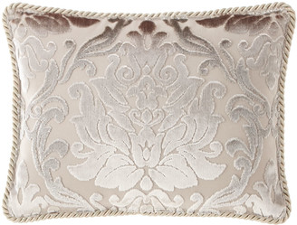 Dian Austin Couture Home Classic Damask Oblong Pillow