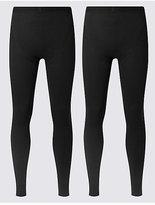 M&S Collection 2 Pack HeatgenTM Long Pants