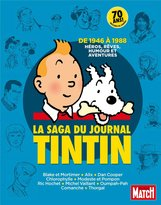 Moulinsart La saga du journal Tintin : De 1946 à 1988, héros, rêves, humour et aventures