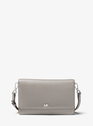 Michael Kors Pebbled Leather Convertible Crossbody Bag