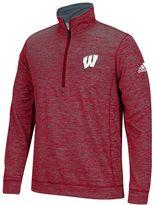 adidas Men's Wisconsin Badgers Sideline Pullover