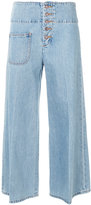 Marc Jacobs Retro wide leg jeans - women - Cotton - 25