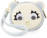 Betsey Johnson Animal-Face Faux-Leather Contact Case