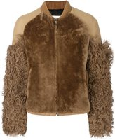 MSGM sleeve detail jacket