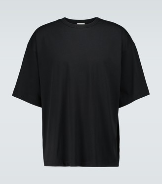 Dries Van Noten Oversized cotton crewneck T-shirt