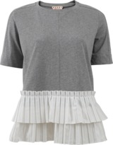 Marni Pleated Hem Tee
