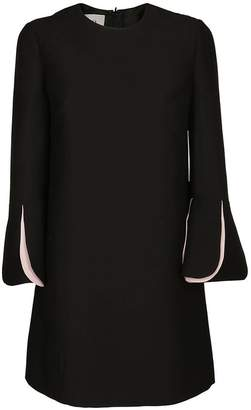Valentino Bell Sleeved Mini Dress