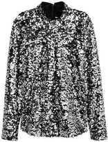 H&M Sequined Top - Black - Ladies