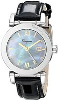 Salvatore Ferragamo Women's FP1980014 Stainless Steel Watch with Diamond Accents