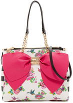 Betsey Johnson Big Bow Satchel