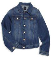 DL Premium Denim Girl's Manning Faded Denim Jacket