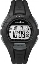Timex Unisex Quartz Watch with LCD Dial Digital Display and Black Resin Strap TW5K94000